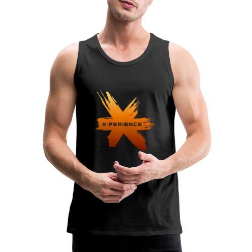 X-Perience Orange Logo - Männer Premium Tank Top