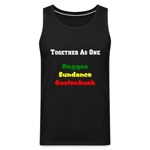 together as one reggae sundance gastenbo - Men's Premium Tank Top