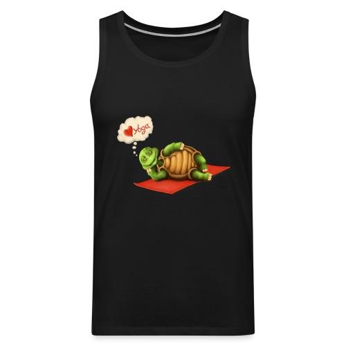Love-Yoga Turtle - Männer Premium Tank Top