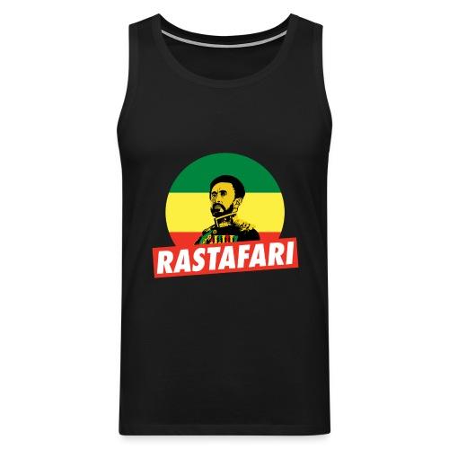 Haile Selassie - Emperor of Ethiopia - Rastafari - Männer Premium Tank Top