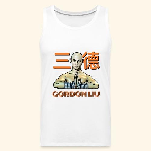 Gordon Liu - San Te Monk (Official) 6 dots - Mannen Premium tank top