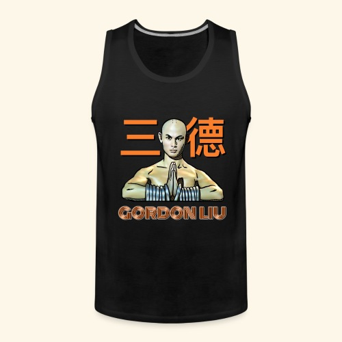 Gordon Liu - San Te Monk (Official) 6 dots - Mannen Premium tank top