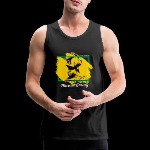 MARCUS GARVEY by Reggae-Clothing.com - Männer Premium Tank Top