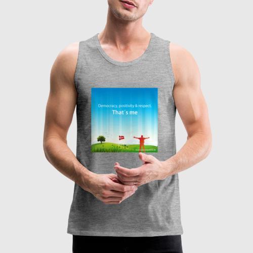 Rolling hills tshirt - Herre Premium tanktop