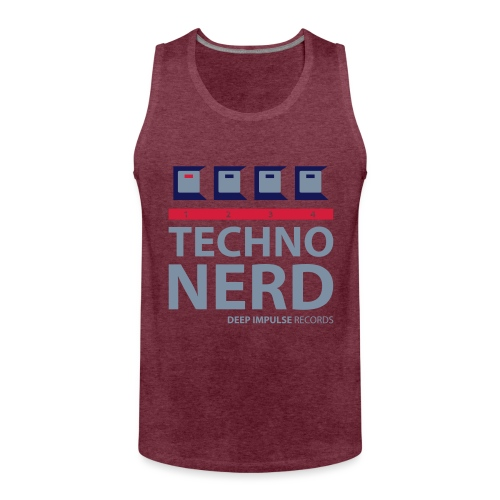 Techno Nerd - Men's Premium Tank Top