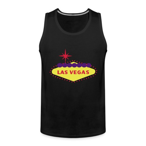 create your own LAS VEGAS products - Men's Premium Tank Top
