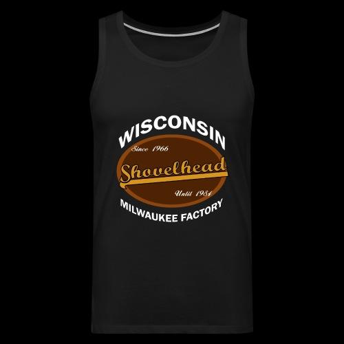 Milwaukee Shovelhead - Männer Premium Tank Top