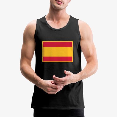Banderola española - Tank top premium hombre