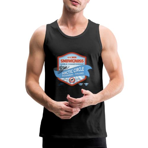 MM Snowcross 2020 virallinen fanituote - Miesten premium hihaton paita