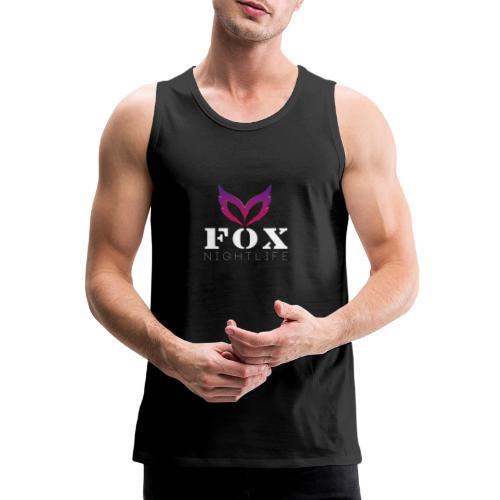 Vrienden van Fox Nightlife - Mannen Premium tank top
