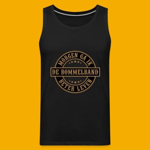 bb logo rond shirt - Mannen Premium tank top
