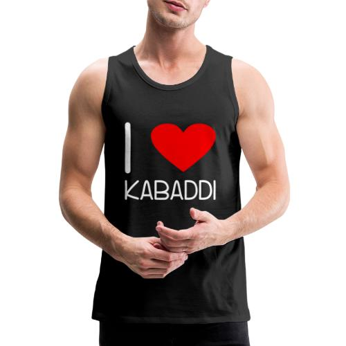 Kabaddi Kabadi Sportart India Südasien Shirt Gesch - Männer Premium Tank Top