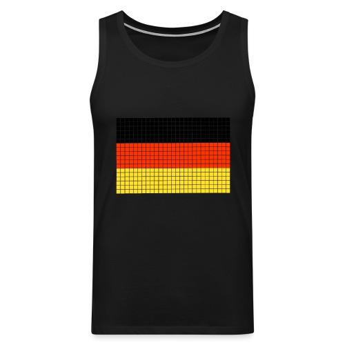 german flag.png - Canotta premium da uomo