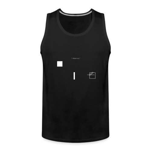 /obeserve/ sweater (M) - Premium singlet for menn