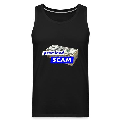 premined SCAM - Men's Premium Tank Top