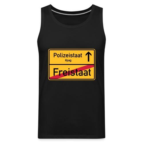 Freistaat Bayern Polizeistaat - Männer Premium Tank Top