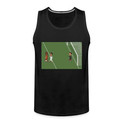 Backheel goal BG - Men's Premium Tank Top