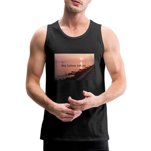 Sunset dLis - Männer Premium Tank Top