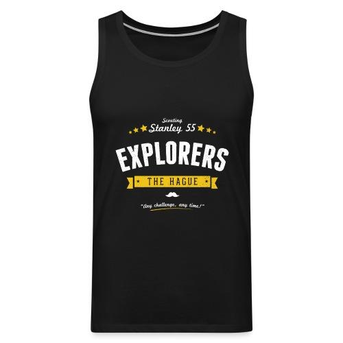 Explorershirt - Mannen Premium tank top