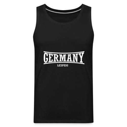 germany-leipzig-weiß - Männer Premium Tank Top