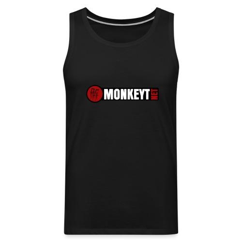 Monkeyt net - Miesten premium hihaton paita