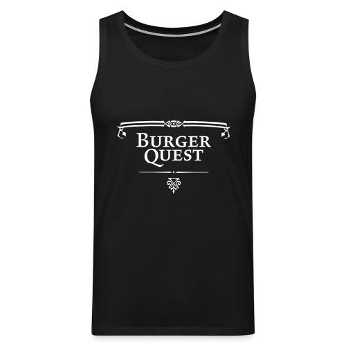 Burgerquest Logo vector - Mannen Premium tank top