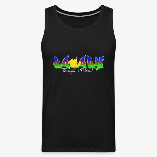Pacific island - Débardeur Premium Homme