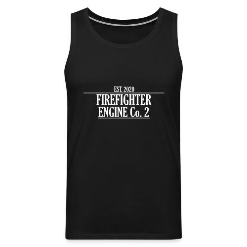 Firefighter ENGINE Co 2 - Herre Premium tanktop