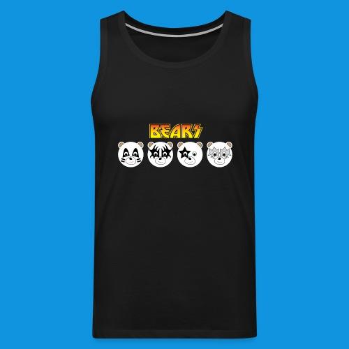 Kiss Bears.png - Men's Premium Tank Top