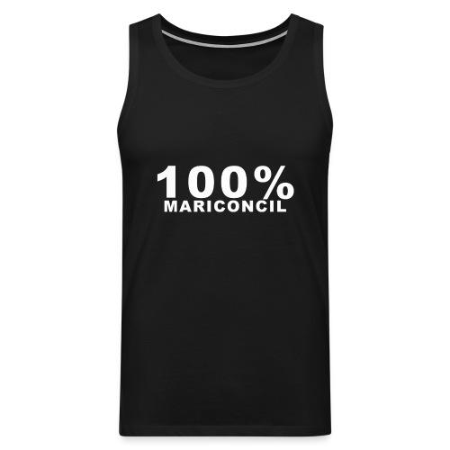 100 Mariconcil Blanco - Tank top premium hombre