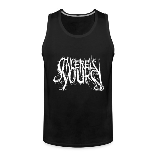 Sincerely, Yours Vest Top , Men - Men's Premium Tank Top