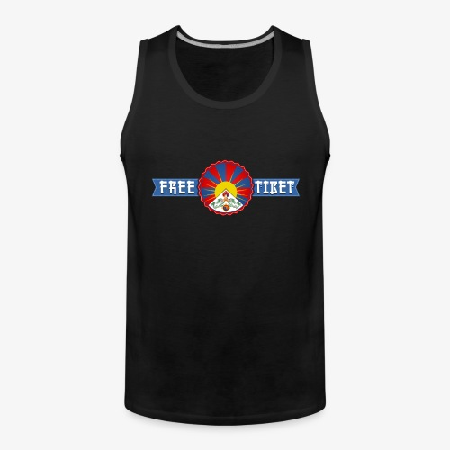 Free Tibet - Männer Premium Tank Top