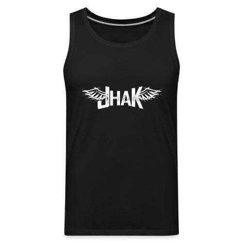 Jhak (Blanco) - Tank top premium hombre