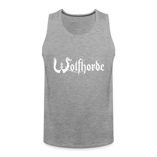 wolfhorde vector black - Men's Premium Tank Top