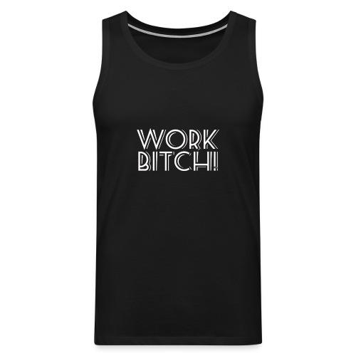 workbitchblanco - Tank top premium hombre