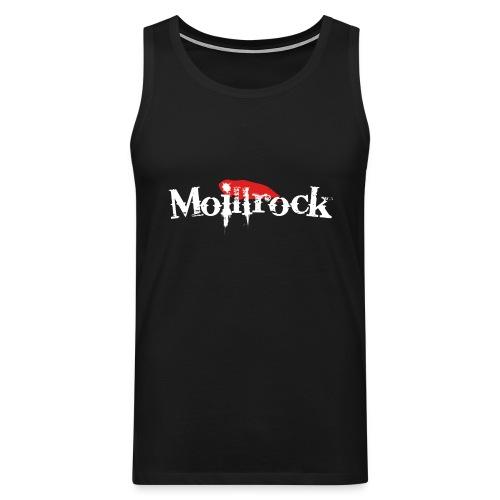 moillrockstortransparent - Premium singlet for menn