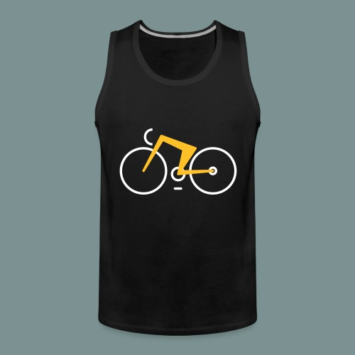 Bikes against cancer - Herre Premium tanktop