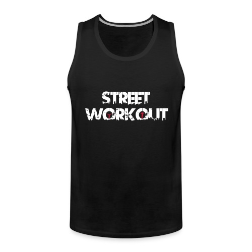 Street Workout - Männer Premium Tank Top