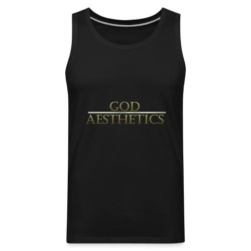 God Aesthetics Aesthetics Warrior Fitness Shredded - Men's Premium Tank Top