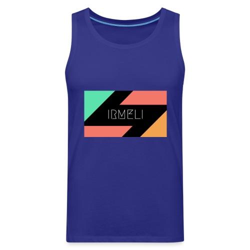 Irmelis Logo glothes - Miesten premium hihaton paita
