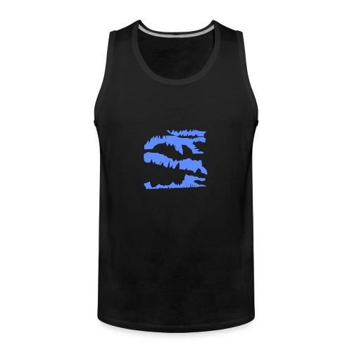 Blue_Sample.png - Männer Premium Tank Top
