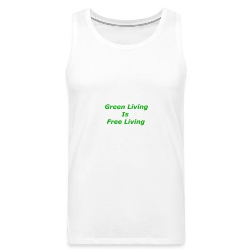 Green Living - Herre Premium tanktop