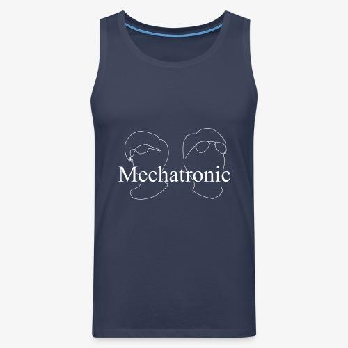 Mechatronic Logo - Premiumtanktopp herr