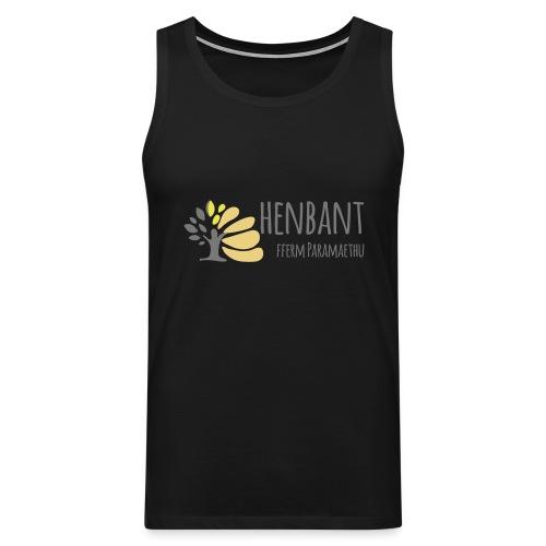 henbant logo - Men's Premium Tank Top
