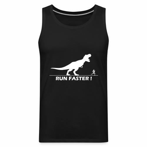 run faster - Tank top premium hombre