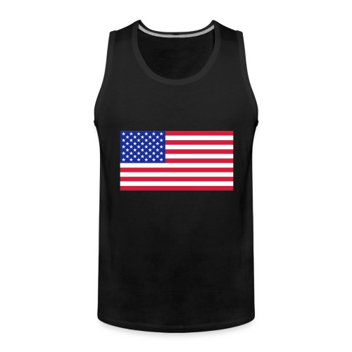 USA / United States - Mannen Premium tank top