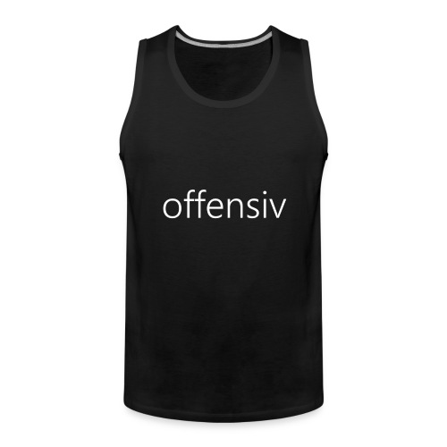 offensiv t-shirt (børn) - Herre Premium tanktop