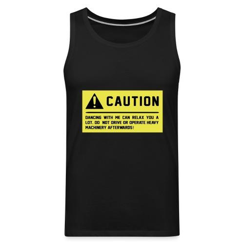 Caution - Männer Premium Tank Top