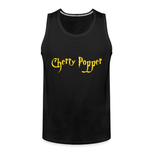 cherry vector - Men's Premium Tank Top