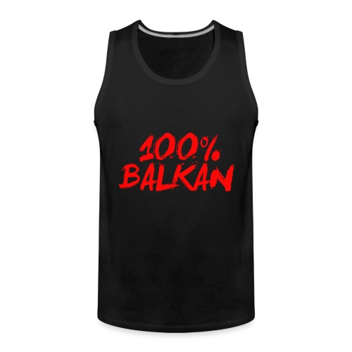 100% Balkan - Männer Premium Tank Top